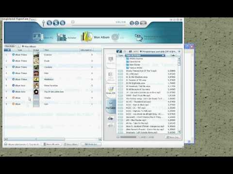 Samsung YP-K3 - Tutoriel de création de liste de lecture