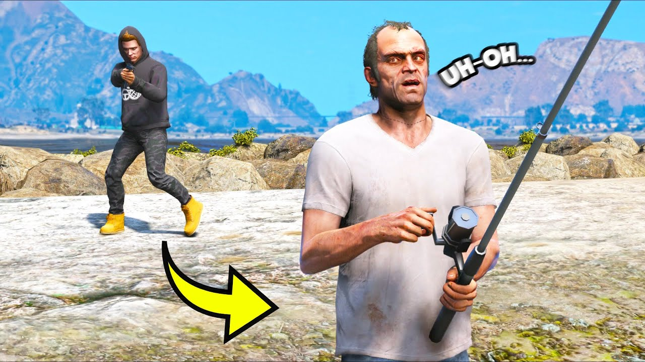 Grand Theft Auto V Glitch - YouTube