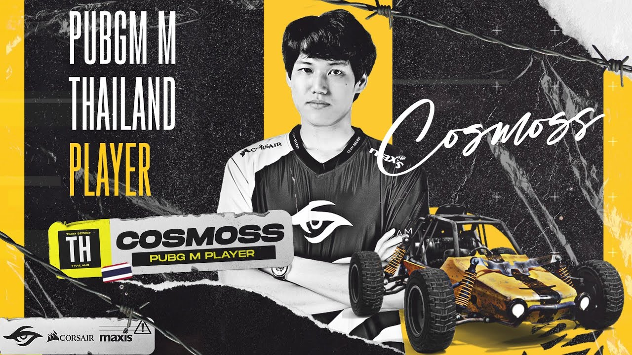 WELCOME COSMOSS to our Secret PUBGM team.