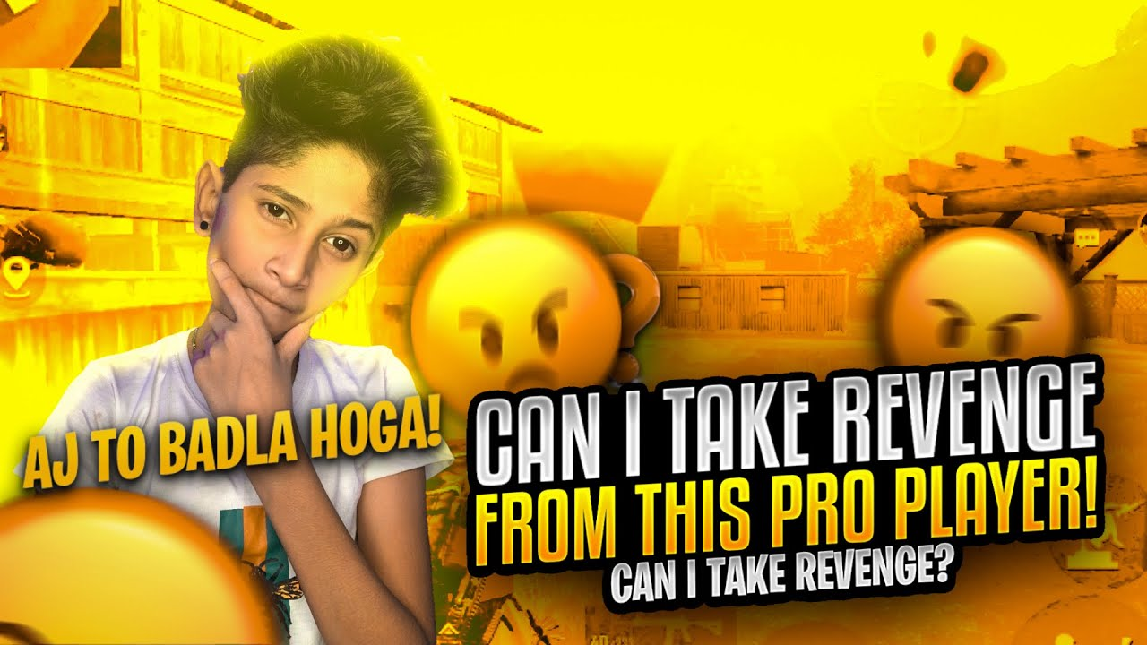 Can I Take Revenge From this Pro Player?😱| (Ab to Badla Hogaa!😡) | PubgM | Vampire YT
