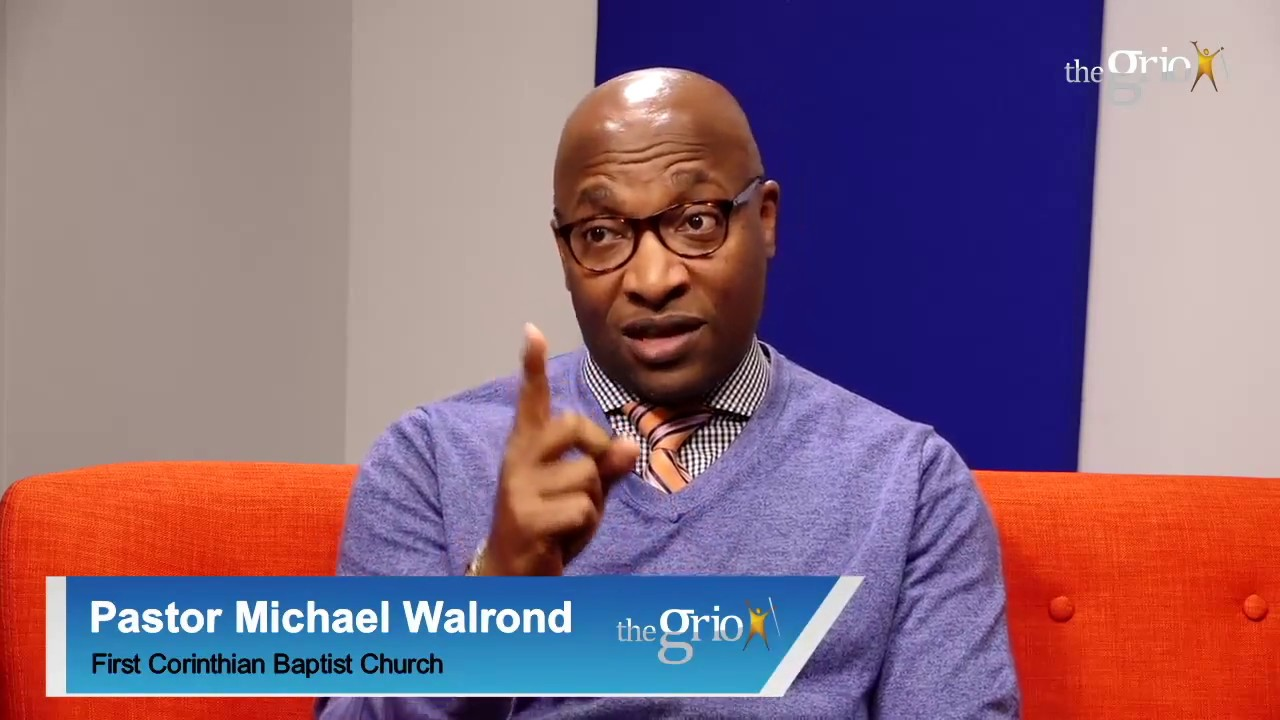 Pastor Michael Walrond On How To Pursue A Dream