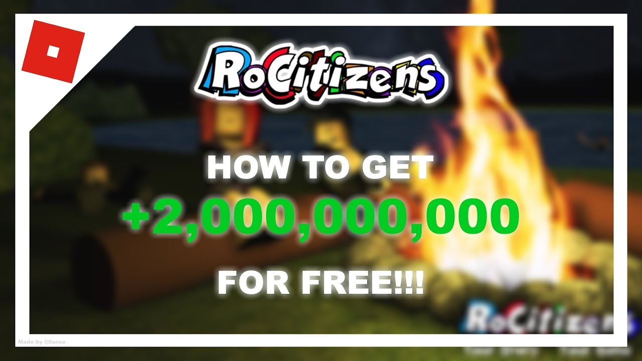 💲RoCitizens [Schoolbus] | HOW TO GET 2B MONEY FREE!!!💲