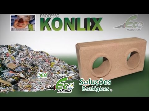Ecological Bricks of Garbage Dump