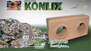 Ecological Bricks of Garbage Dump thumbnail