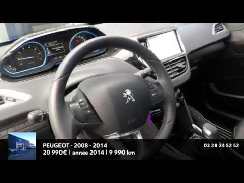 annonce occasion peugeot 2008 1 6 vti f line titane 2014 youtube. Black Bedroom Furniture Sets. Home Design Ideas
