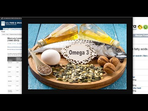 Top 8 Omega 3 Rich Foods ~ Fish Low Mercury, High Omega 3 ~ Diet, Nutrition, Health