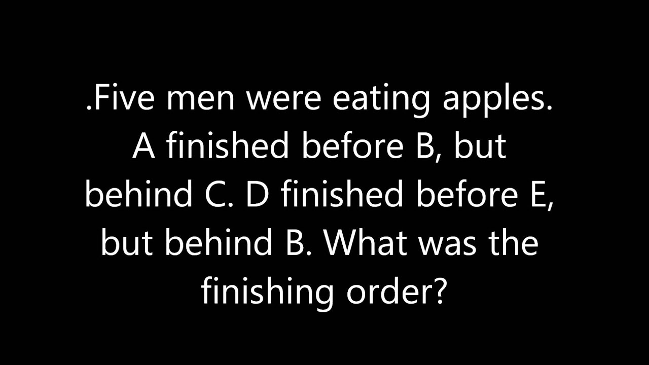 Weekly Brain Teaser Riddle 1