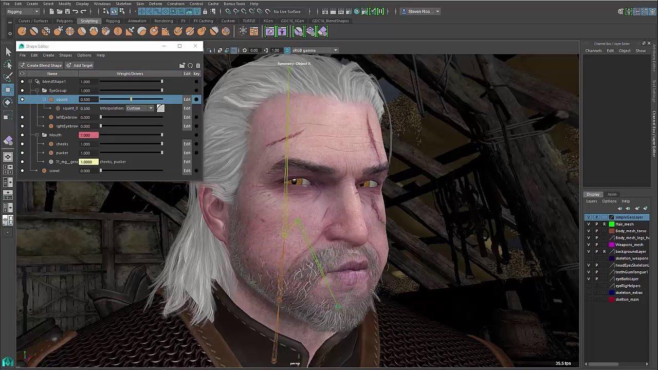 Maya 2016 Extension 2: Shape Editor