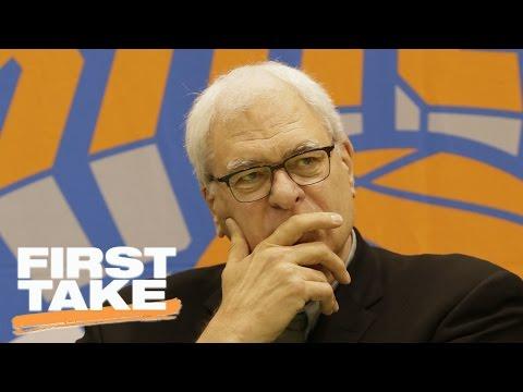 Max Rants Over Knicks' Struggles | First Take | May 17, 2017