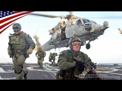 特殊部隊ネイビーシールズの艦船強襲・臨検訓練【Navy SEALs】