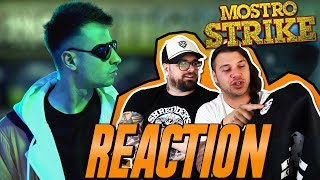 MOSTRO - STRIKE (prod by ENEMIES) | RAP REACTION | ARCADEBOYZ