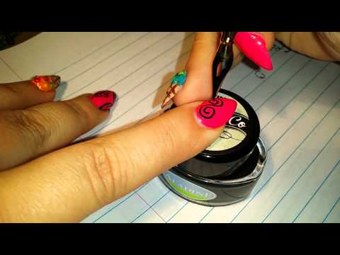 Black Butterfly Lace Nail Art Tutorial Doovi