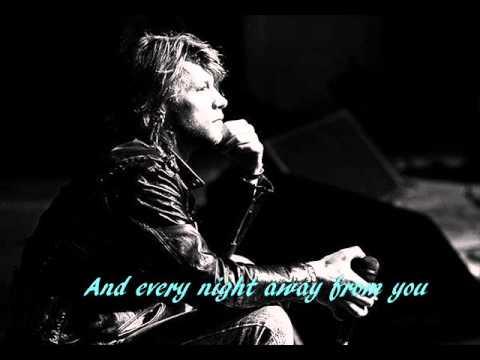 Bon Jovi Stay Lyircs