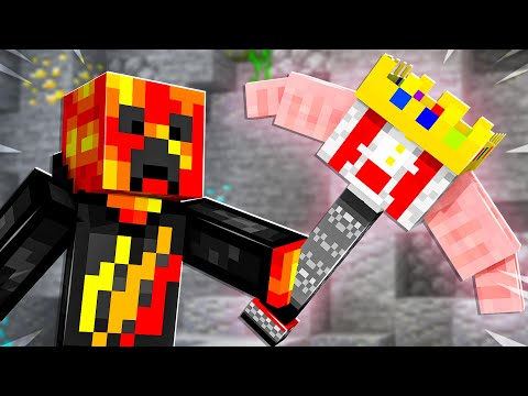 Minecraft but YouTubers are Pickaxes...