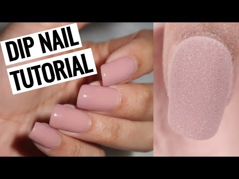 HOW TO DO DIP NAILS AT HOME! | Revel Nail