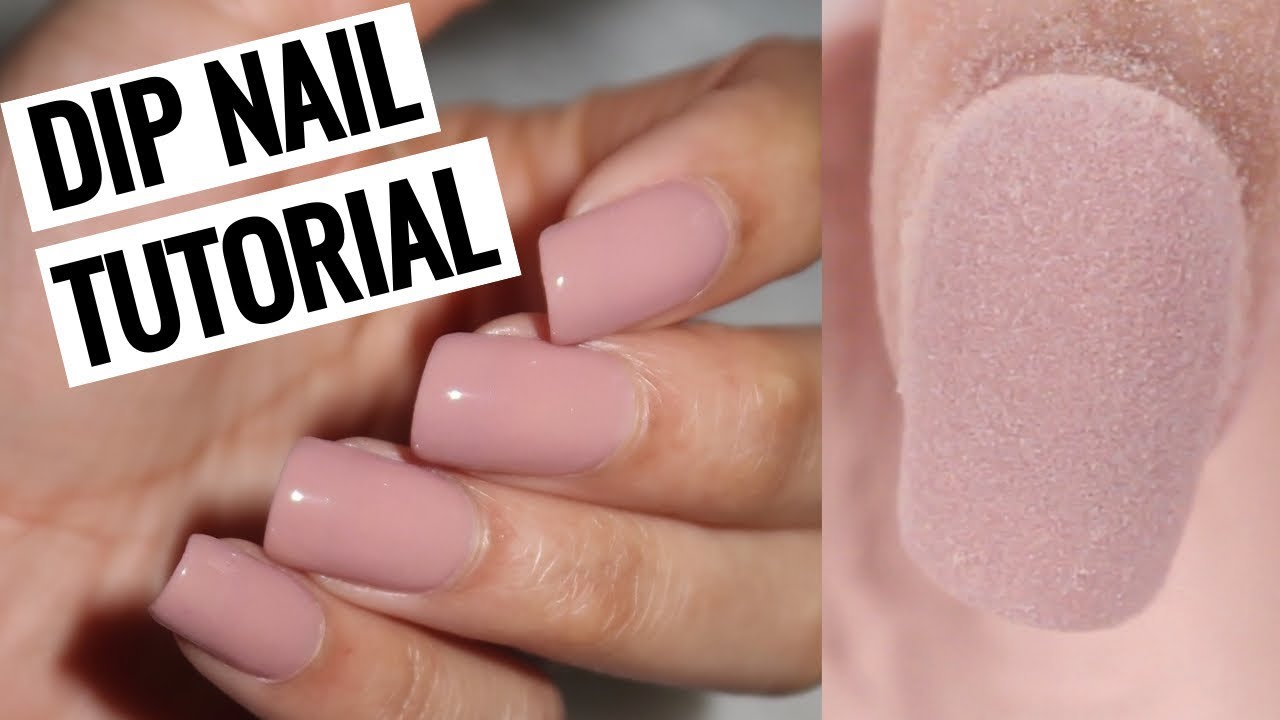 HOW TO DO DIP NAILS AT HOME! | Revel Nail - YouTube
