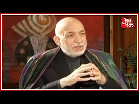 Former Afghanistan President Hamid Karzai Exclusive Interview