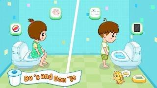 Hướng Dẫn Bé �i Vệ Sinh | Baby Panda Toilet Training |