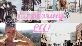Exploring Los Angeles! Trek America Travel Vlog   Fashion Mumblr