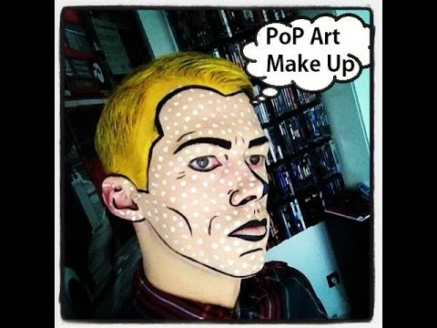 popart makeup tutorial sascha ellmers youtube. Black Bedroom Furniture Sets. Home Design Ideas