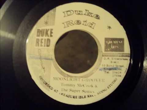 Tommy McCook & The Supersonics - Moonlight Groover - Duke Reid JA
