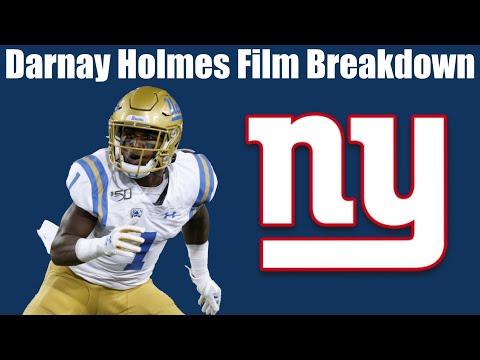 Darnay Holmes Film Breakdown (NY Giants 4th Round Pick)