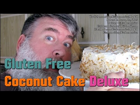 How To make GLUTEN FREE COCONUT CAKE DELUXE - Day 16,716