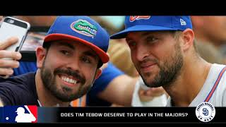 """Richards: """"Tim Tebow will play in the bigs"""""""