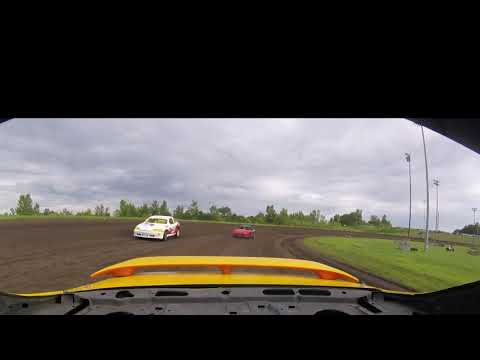 Sport Compact Heat 1 race at Sports Park Raceway in Fort Dodge Iowa on 21 July 2019. The reality is this one will be a favorite of mine for the 2019 season. - dirt track racing video image