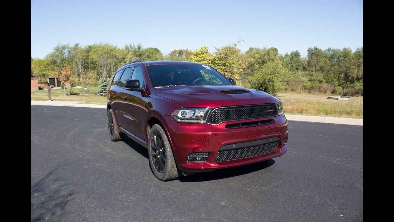 2018 Dodge Durango R T Review