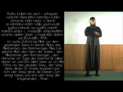 Dhuhr - Öglen Namaz - Das Mittagsgebet (Arabisch-Deutsch)
