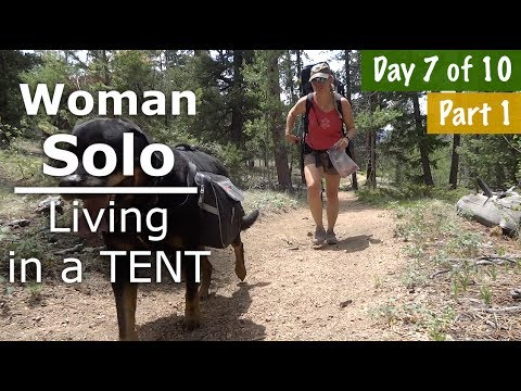 Woman Solo Backpacking, Need to find Water Part 1 - 7/10 days - Our Journey :: Episode #72