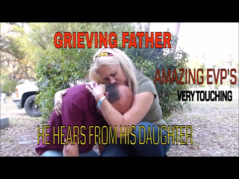GRIEVING FATHER HEARS FROM DAUGHTER AT GRAVE (VERY EMOTIONAL!!!