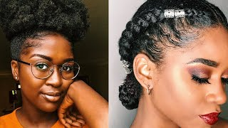 15 Easy Natural Hairstyles For Work