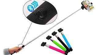 Wireless Selfie Stick - Unboxing & First Impression (Model # Z07-5)
