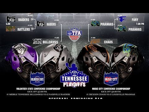 Middle Tennessee Bulldawgs vs Nashville Raiders Playoffs