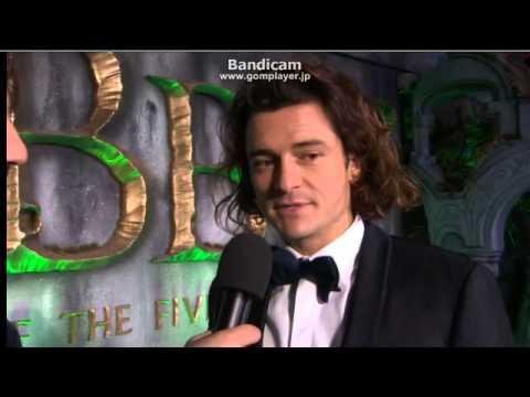Hobbit London Premiere 2014 12 02 Orlando Bloom Interview