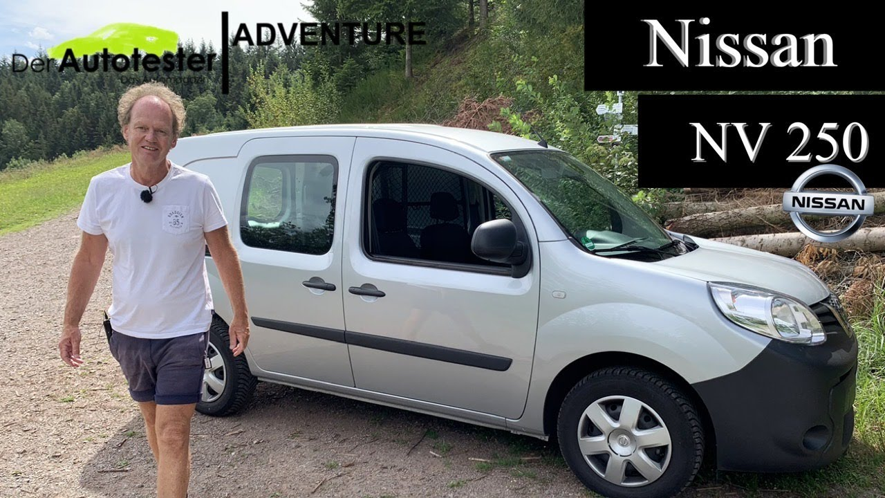 First look at the all new Nissan NV250 Acenta for 2020