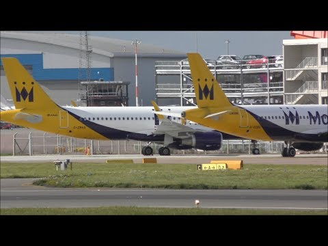Busy Afternoon at London Luton Airport, LTN | 05/10/17