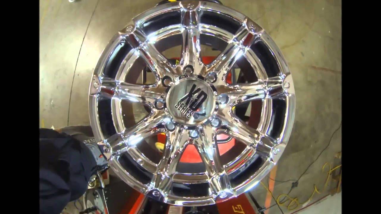 Rims And Tires Canada >> KMC Wheels XD Series XD779 Badlands Chrome - YouTube