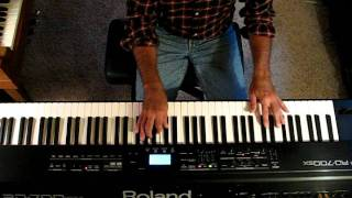 FEELING AT HOME  / Gaither/  keyboard instrumental