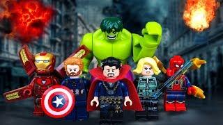 МСТИТЕЛИ  LEGO Супергерои Марвел против ТАНОСА 🔴🔴🔴
