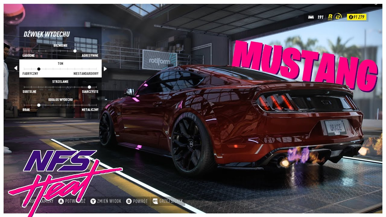 Need For Speed Heat Ford Mustang Gt 15 Customization Tuning