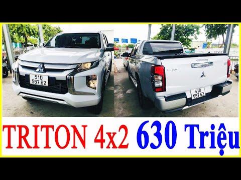 Bản Tải TRITON 4x2 AT Giá Chỉ Từ 630 Triệu | Chi Tiết Triton 2021 Gắn Nắp Thùng Kéo