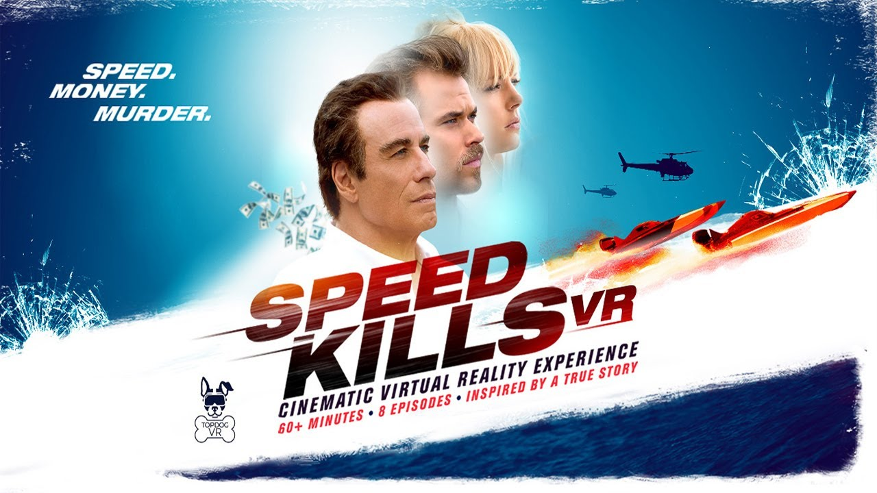 Velocidade Mortal (Speed Kills)  2018  - Trailer Legendado