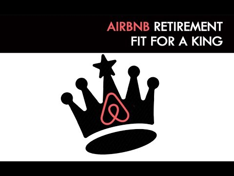 Airbnb Retirement Story Fit for a King [House Hacking Podcast #14 ]