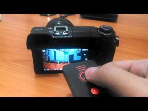 sony nex 6 iphone remote app