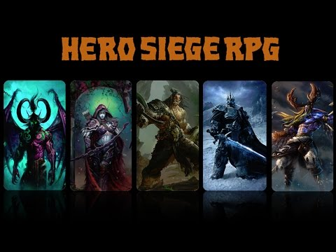 Warcraft 3 - Hero Siege RPG