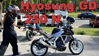 Review Hyosung GD 250 N