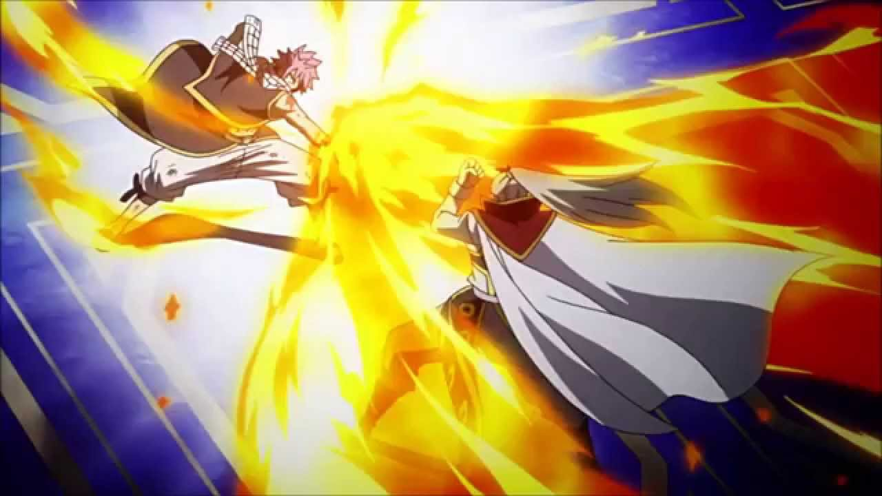 Fairy Tail - Natsu vs Future Rogue [Extended]